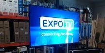 ExpoTV / ExpoTV este un sistem mobil de televiziune cu circuit inchis realizat de catre Bassaka Media. Pe acest sistem pot fi transmise in direct evenimente, conferinte, seminarii, dar poate fi folosit si la difuzarea de spoturi publicitare video in cadrul unor targuri si expozitii sau pentru configuarea unor solutii multimedia pentru show-room-uri si magazine.