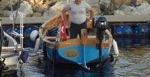 """Gaff rigged sloop """"Vuslat"""" / sailing"""