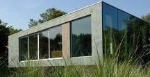 Moderne woningen / Een overzicht van onze stoere en moderne woningen - zowel het exterieur als het interieur.