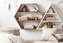 Home Decor / Modern, Boho, Scandinavian, Rustic, Country and Minimalist ideas for home decor.