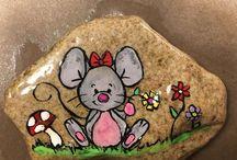Stones / dot art