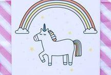 EINHÖRNER & REGENBÖGEN // UNICORNS & RAINBOWS / bitch, please! i ride a unicorn.