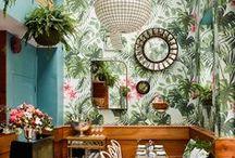 INTERIOR // URBAN JUNGLE / greenery-flair: interior-ideen für ein grünes, urbanes zuhause mit kakteen und sukkulenten! / interior-inspiration for a green, urban home!