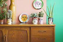 INTERIOR // MIDCENTURY MODERN VINTAGE STYLE / midcentury modern: interiordesign im stil der 50er, 60er und 70er mit zeitgenössischen akzenten. / swinging sixties with a modern twist!