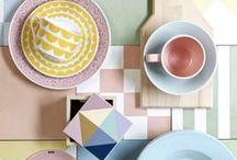 INTERIOR // PASTELLFARBEN / PASTEL COLORS / softe bonbonfarben und sanfte formen – feminin und gemütlich! / interiors as sweet as candy