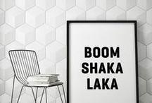 INTERIOR // SCHWARZ-WEISS / BLACK & WHITE / kontrastreiche, klare interior-statements / bold & beautiful interiors