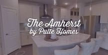 The Amherst by Pulte Homes    Houston Homes   #ElysonHomes