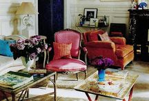 Fabulous Interiors / Inspirational color schemes and design / by Ann Katherine Richards