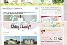 blog design + photo resources / tutorials and resources for creating your own blog design, editing photos, getting clipart for free and/or cheap, and most other blog-related tutorials and resources I want to save and share! / by Mel the Crafty Scientist