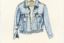 Indigo / Denim inspired fashion. / by James Yoest