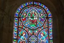 Glass in Europe / Glass from all over Europe from sculptures to stained glass windows.