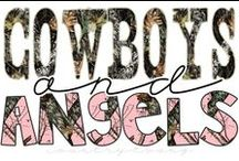 ~ Cowboys -n- Angels ~ / Honestly, who doesn't love a cowboy? / by Tracee McFarland