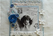 Shabby Chic/Vintage Crafts / Creations with the Shabby Chic/Vintage look and feel that I love. / by Ann Custer