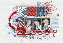 "Papercraft - Patriotic / This board is a collection of patriotic papercrafting treasures perfect for decorating for all the ""Red, White & Blue"" holidays and creating remembrances of those who have served their country."