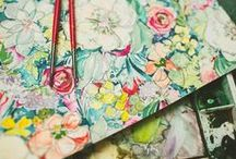 inspiring artists / by jayme marie henderson | holly & flora