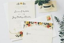 stationery / by jayme marie henderson | holly & flora