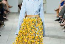 Fashionable skirt / fashion, midi skirts, trends