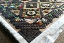 PersimmonQuilts.com  (1)2016  Customer Quilts / These are a few of the quilts longarmed by Le Ann Weaver of Persimmon Quilts in 2016.