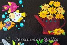 PersimmonQuilts.com (3) 2016  Customer Quilts / These are some of the quilts longarmed by Le Ann Weaver of Persimmonquilts.com in 2016.
