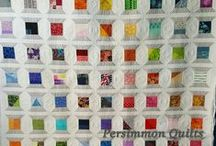 PersimmonQuilts.com (5) 2016 Customer Quilts / These are a few of the quilts longarmed by Le Ann Weaver of Persimmon Quilts in 2016.
