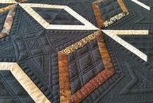 PersimmonQuilts.com (3) 2015 Customer Quilts / Some of the quilts longarmed in 2015 by Le Ann Weaver of Persimmon Quilts.