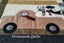 PersimmonQuilts.com (4) 2015 Customer Quilts / A few of the Customer quilts from 2015 longarmed by Le Ann Weaver of Persimmon Quilts.