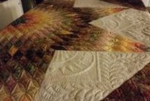 PersimmonQuilts.com (5) 2015 Customer Quilts / Some of the quilts longarmed in 2015 by Le Ann Weaver of Persimmon Quilts.