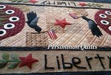 PersimmonQuilts.com (6) 2015 Customer Quilts / Some of the quilts longarmed by Le Ann Weaver of Persimmon Quilts.
