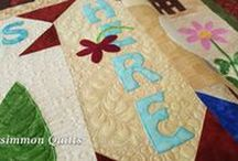 PersimmonQuilts.com (6)Customer Quilts 2016 / Some of the quilts longarmed by Le Ann Weaver of Persimmon Quilts in 2016.