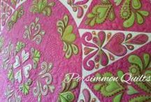 PersimmonQuilts.com (9)Customer Quilts 2016 / Some of the quilts longarmed in 2016 by Le Ann Weaver of Persimmon Quilts.
