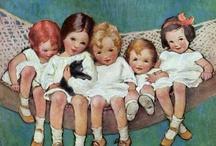Illustrations by Jessie Wilcox Smith / I adore the many works of Jessie Wilcox Smith... these are just a few.
