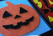 Happy Halloween / Halloween Decor, DIY, and Inspiration.  Fun kids crafts and party ideas.