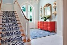 Design Focus:  Stairs / Stairs and stairwells are a wonderful design opportunity.  It's all about the details!