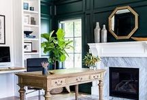 Home Office / home office ideas, home office design, home office organization, home office for 2, small home office, home office for men, home office desk, work from home office, feminine home office, home office for two, home office on a budget, home office guest room, home office built ins, chic home office, home office library
