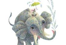 elephants for mom / by Kim Teigen