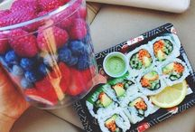 Food & N/A Drinks!☕️ / food and non-alcoholic drinks / by Sarah Rae