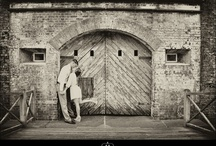 Shoot Location - Fort Macon / Fort Macon engagements and weddings
