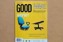 GOOD Covers / Covers from past issues of GOOD Magazine.  / by GOOD