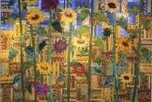 Sunflower quilts / by Kim Teigen