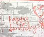 Geburtstag/Birthday / http://www.stempelabc.info