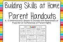 Classroom: Parent Stuff / by Jen Carson