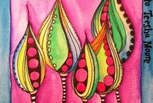 Mix Media, Collage & Art Journaling / by Debi Payne