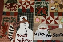 CHRISTMAS and WINTER QUILTS / by Kim Teigen