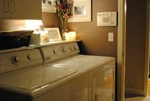 Home - Laundry Room / by Courtney Baumgardt McDuffie