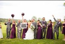W2 (Purple/Green) / Color themed wedding inspiration board. / by Helena Watson