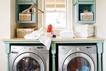 Laundry/Mud Room Ideas. / Because I needed a whole board dedicated to washers and dryers. / by Helena Watson