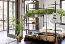 Design Focus:  Beds:  Bunk / Bunk beds are just plain cool.