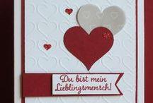 Hochzeit/Wedding/Gold/Silber / Karten zur Hochzeit, Hochzeitstag mit Stampin UP