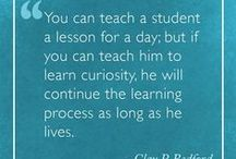 Educational Quotes / These are some of our favorite educational quotes.