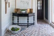 Design Focus: Floors:  Brick / All about brick flooring